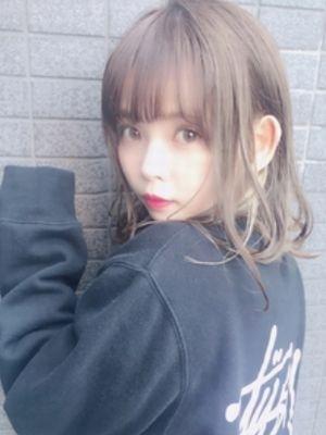 【Euphoria/木村 綾】小顔透明感ヴェールウェーブミ