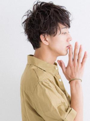 【Euphoria/岩崎達也】クラウドマッシュパーマスタイル
