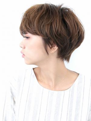 ☆似合う髪型30代40代綺麗なシルエットの大人のショート☆