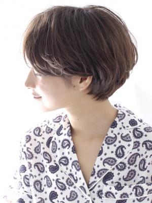 大人のショートヘア 水野美紀風 髪型