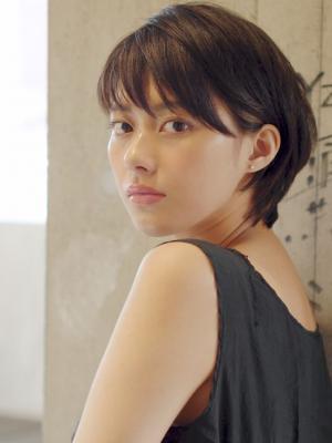 ☆黒髪小顔ショートヘア☆