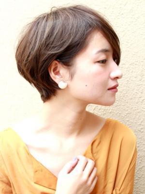 女性らしい☆大人の柔らかいショートヘア