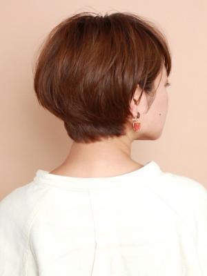 前髪長め☆大人のショートヘア