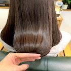 【艶髪を目指すダメージレスカラー】カット+ロレアルイノア  オイルカラー