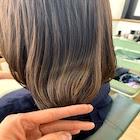【うる艶メンテナンスセット】前髪カット+オイルカラー+高濃度水素トリートメント
