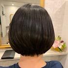オーガニックカラー(白髪染め)+【髪質改善トリートメント