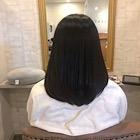 髪質改善オーガニックエステカラー白髪染め+37歳からの大人女子カット+髪質改善エステトリートメン