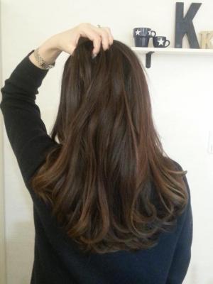 艶髪ベリーピンク