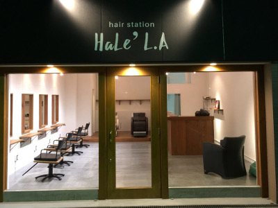 hair station HaLe' L.A3