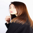 【OPEN☆記念】デザインカット+ストレート+天然オーガニックTRプラチナ☆