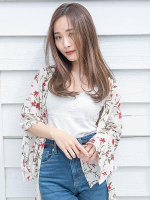 韓国人風大人ワンカールストレート