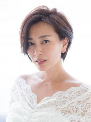 30代おすすめ、木村佳乃さん風、大人ショート