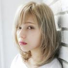 透明感のあるハイトーンに☆ダブルカラー【池袋東口】