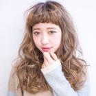 【大人気の柔ふわパーマ】デザインカット+デジタルパーマ