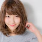 【髪質改善】前髪カットサービス+Aujuaトリートメント 7,700円