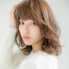 【髪質改善】 小顔カット+美髪カラー+艶トリートメント 9,870円