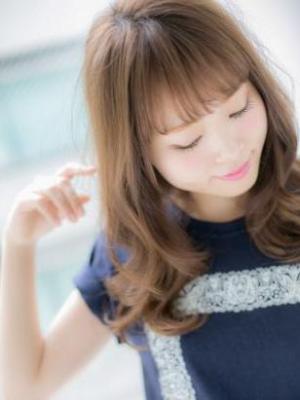【Euphoria銀座本店】大人可愛いワンカール☆篠崎
