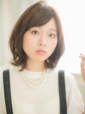 【Euphoria銀座本店】大人カワイイ鎖骨ワンカール♪篠崎