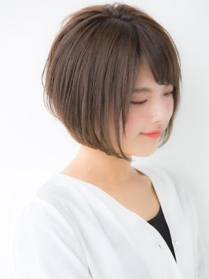 【Euphoria銀座本店】大人綺麗なショートボブ  長谷川