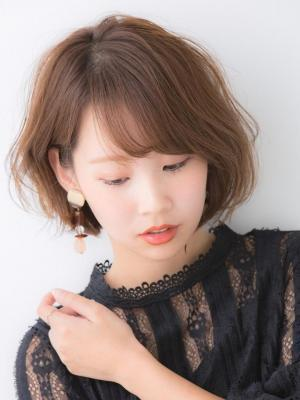 【Euphoria銀座本店/木村】大人ショートボブゆるパーマ