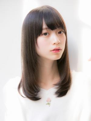 モード☆黒髪☆ナチュラルストレート