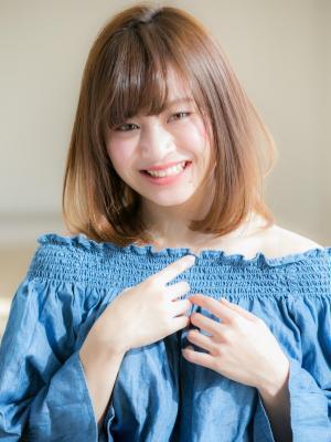 【Euphoria銀座本店/斎藤】 美髪ふわミディカール