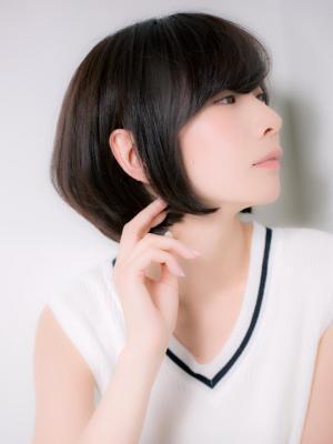 【Euphoria銀座本店/斎藤】髪質改善でツヤ髪☆小顔ボブ