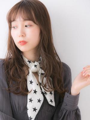 【Euphoria銀座本店】ゆるラフロング×チョコブラウン