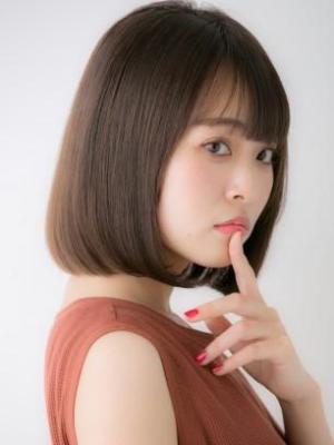 【Euphoria銀座本店】髪質改善×ボブスタイル
