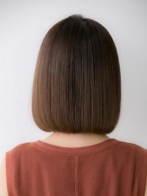 【Euphoria銀座本店】シンプルボブ×髪質改善TR