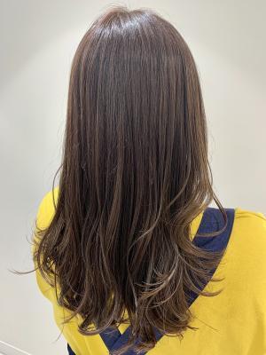 艶髪☆ハイライトバイオレットグレージュ