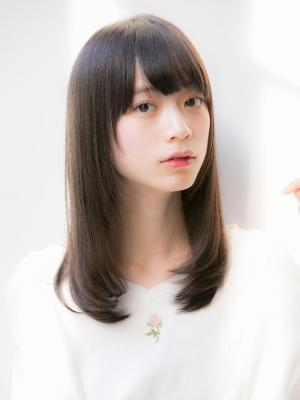 【Euphoria/立花】黒髪☆ナチュラルストレート