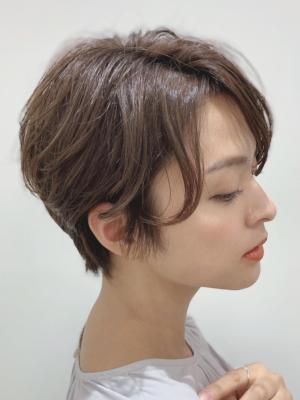 【Euphoria銀座本店】骨格矯正大人女性ショート