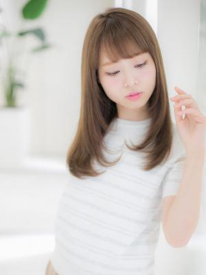 【Euphoria】☆ミディアムヘアの愛されの秘訣は前髪に☆