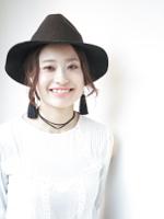人気のゆるふわセミディ☆柔らかハニーグレージュカラー