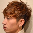 【男の新世代スタイル】カット+パーマ