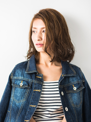 DOUZE 羽倉崎本店 カットモデル写真