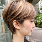 ☆艶白髪染め☆カット+オーガニックカラー全体+ハホニコTR
