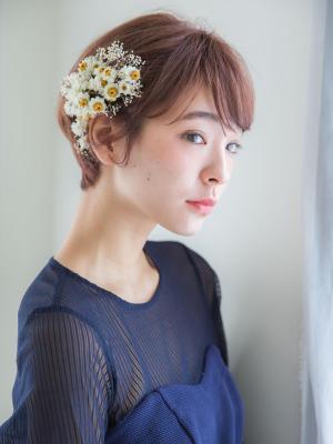 【aRietta】ノーブルショート・モテアレンジ