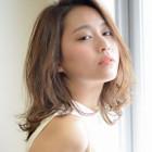 【美髮♪】艶カラー+プレミアムリペアトリートメント+コテ巻アレンジ付