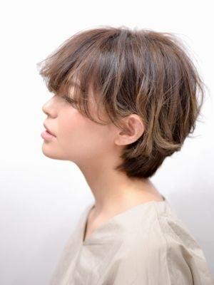 【anon by air 田中】 大人女子のハンサムショート