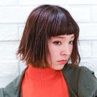 【クーポン限定】[カット+カラー+ストレートパーマ]