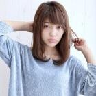 【期間限定☆梅雨対策】カット+前髪ストレート+TOKIOトリートメント(5STEP)