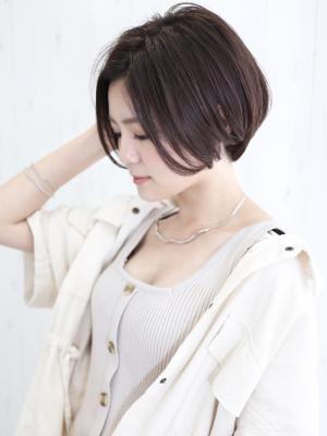 横顔美人×センシュアルショート
