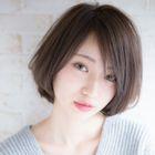 《手軽に綺麗に☆》NOAHカット&リタッチカラー&トリートメント/6,800円