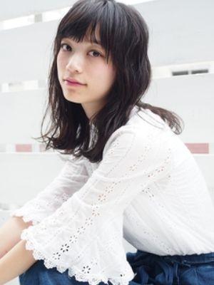 【SeeK】黒髪×パーマ×大人かわいい切りっぱなしボブディ