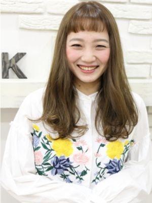 【Seek立川】オン眉×サラストレート