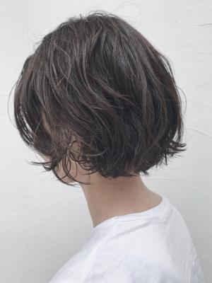 【渋谷BANKSIA】簡単スタイリングボブパーマ