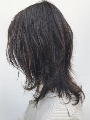 【渋谷BANKSIA】簡単スタイリングミディウルフ