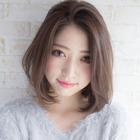 【癒しヘッドマッサージ付き】オーガニックカラー+カット